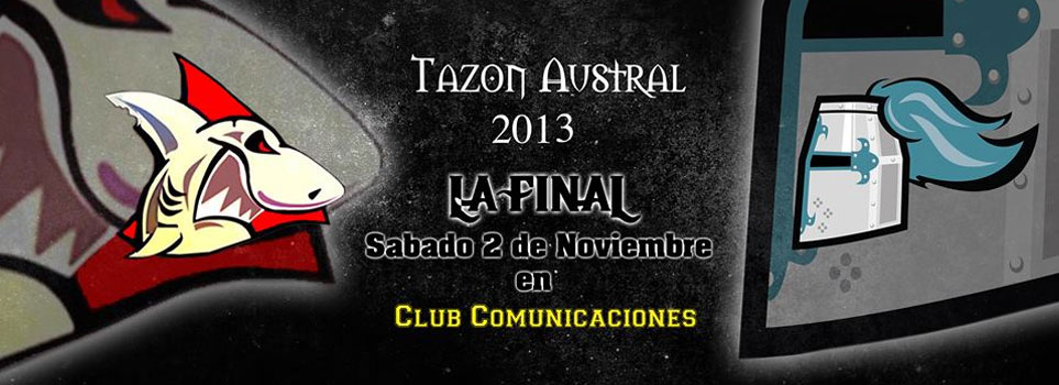 tiburones football americano final tazon austral 2013