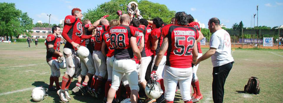 tiburones football americano playoffs tazon austral 2013
